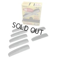 50's DEAD STOCK COMB SOLID ×5ps. and with ORIGINAL PRINTED × 2ps. WITH ORIGINAL BOX (2)