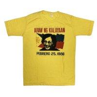 "1986's DEAD STOCK ""CORAZON  AQUINO"" 革命家 PRINTED Tee SHIRTS"