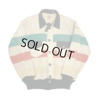 〜30's HUDSON'S BAY BLANKET JACKET WITH CHINSTRAP
