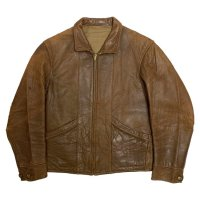 30's CALIFORNIAN LAMB SKIN LEATHER JACKET