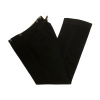 〜30's SLACKS PANTS WITH BUCKLEBACK BLACK