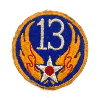 WWII US shoulder sleeve insignia of the 13th Air Force PATCH