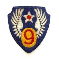 WWII US shoulder sleeve insignia of the 9th Air Force PATCH