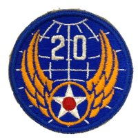 WWII US shoulder sleeve insignia of the 20th Air Force PATCH