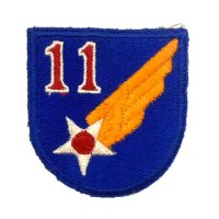 WWII US shoulder sleeve insignia of the 11th Air Force PATCH