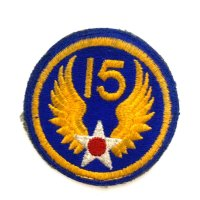 WWII US shoulder sleeve insignia of the 15th Air Force PATCH