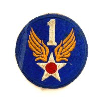 WWII US shoulder sleeve insignia of the 1st Air Force PATCH