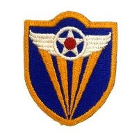 WWII US shoulder sleeve insignia of the 4th Air Force PATCH