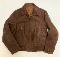 early 40's W.W.2 HORSE HIDE LEATHER JACKET