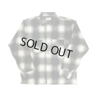 60's DEAD STOCK HOMBRE CHECK COTTON FLANNEL SHIRTS