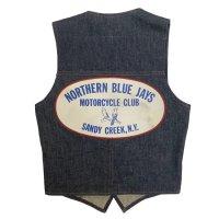 70's MOTORCYCLE CLUB DENIM VEST