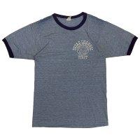 70's VELVA SHEEN PRINTED RINGER TEE SHIRTS