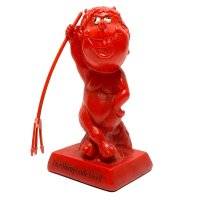 70's RED DEVIL MESSAGE DOLL (1)