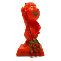 70's RED DEVIL MESSAGE DOLL (2)