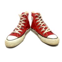 80's CONVERSE ALL STAR Hi. RED size:6
