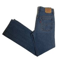 80's Levi's 717 STRETCH DENIM PANTS (1)