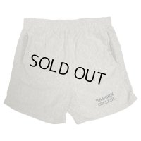 80's CHAMPION REVERSE WEAVE PRINTED SWEAT SHORT PANTS WITH POCKETS