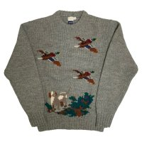 around 70's DEAD STOCK BROOKS BROTHERS. WOOL KNIT