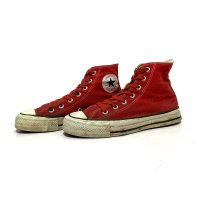 80's CONVERSE ALL STAR Hi. RED
