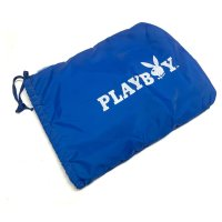 80's DEAD STOCK  PLAYBOY NYLON BAG