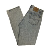 90's Levi's 501 BLUE CHEMICAL WASH MADE IN U.S.A.