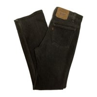 90's Levi's 517 STRETCH DENIM PANTS BLACK