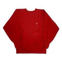90's CHAMPION REVERSE WEAVE SWEAT SHIRTS RED L