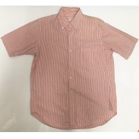 OLD BROOKS BROTHERS SEERSUCKER SHORT SLEEVE BUTTON DOWN SHIRTS